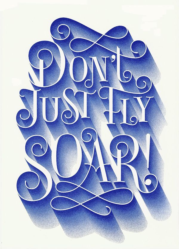 Movie Quotes by Martina Flor via Behance.net