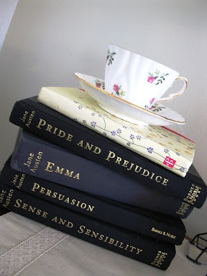 Jane Austen Books | Gerilyn Hayes Austin Copy Writer | www.gerilynhayes.com