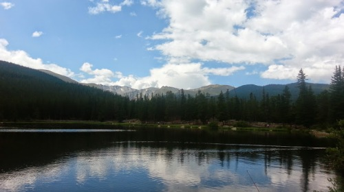 Echo Lake in CO. Photographed by Gerilyn Hayes, www.gerilynhayes.com
